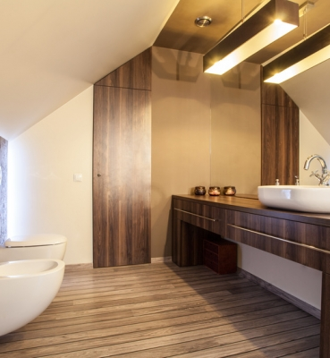 Bathroom wenge